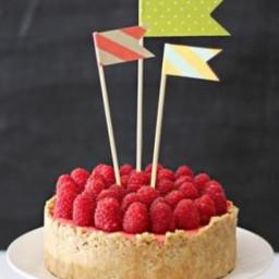 Raspberry Ice Cream Pie