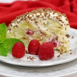 Raspberry Piece of Cake Cake