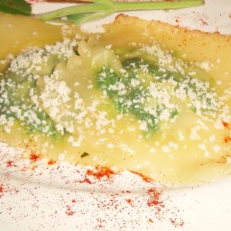 Ravioli with Spinach and Ricotta Filling