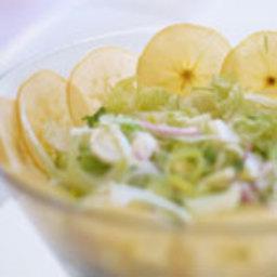 Raw Vegan Fennel & Apple Salad
