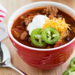 Recipe: Lean Turkey Chili