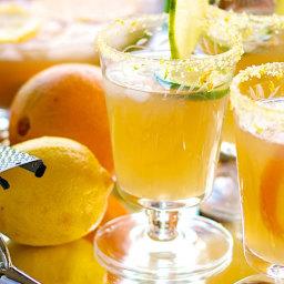 Recipe: Margarita with Citrus Salt