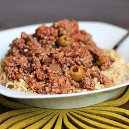 Recipe: Skinny Beef Picadillo
