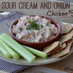 Recipe: Sour Cream and Onion Chicken Salad