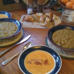... and Chili Beans and Legumes Red Lentil and aubergine curry (3 points