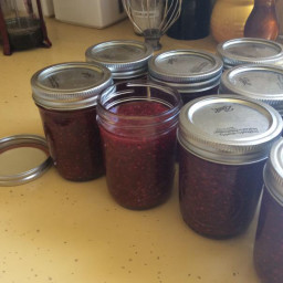 RED RASPBERRY FREEZER JAM