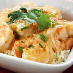 Red Thai Coconut Curry Shrimp