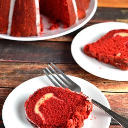 Red Velvet Pound Cake