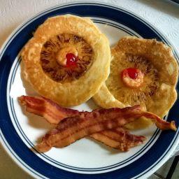 Redeye Pineapple Pancakes