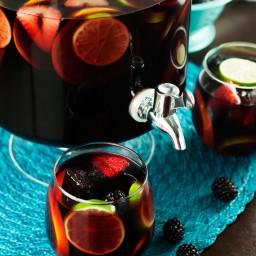 Red Sangria, Paloma, Mango Slush Punch