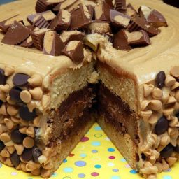 Reeses Overload Cake