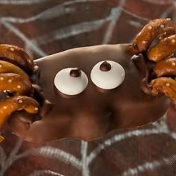 Peanut Butter Pumpkin Spider