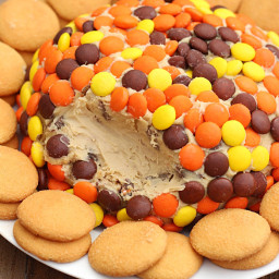 Reese's Peanut Butter Cookie Dough Cheese Ball