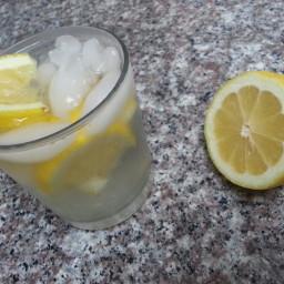 Refreshing Lemon Ginger Detox Water