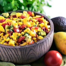 Refreshing Mango Salsa