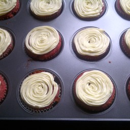 Moist Any Colour (Red)  Velvet Cupcakes