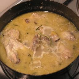 Renaissance time chicken