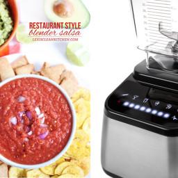 Restaurant-Style Blender Salsa