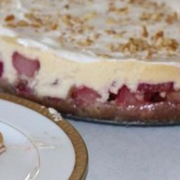 Rhubarb Cheesecake