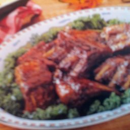 Ribs with Plum Sauce