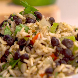 Rice and Black Bean Pilaf