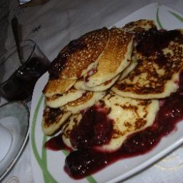 Rice Flour and Yogurt Pancakes