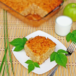 Rice Zapekanka with Apples