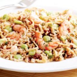Rice Pilaf with Shrimp