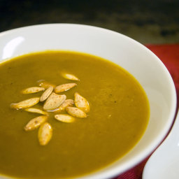 Rich and Hearty Curried Pumpkin Soup Recipe - and a look at Carton Smart