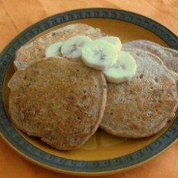 Richard Simmons Banana Pancakes