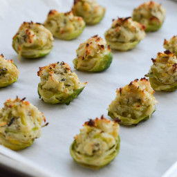 RICOTTA and HERB STUFFED BRUSSELS SPROUTS