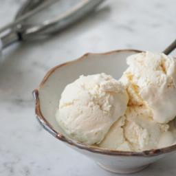 Ricotta-Honey Ice Cream