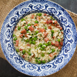 Risi e Bisi, Italian Rice and Peas