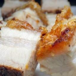 Roast Pork Belly (Cantonese Style)