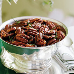 Roasted Brown-Butter Pecans with Rosemary