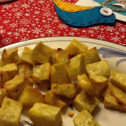roasted California batata/boniato (sweet potato's latino cousin)