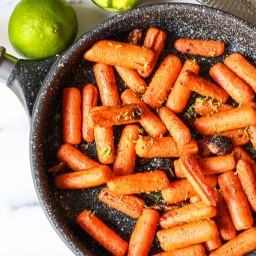 Roasted Carrots With Lime Zest