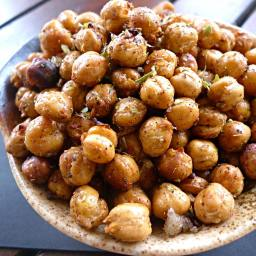 Roasted Chickpea Snacks