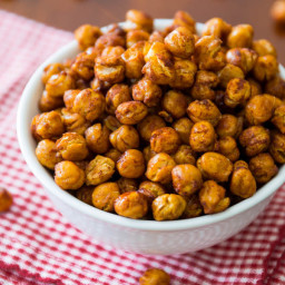 Roasted Cinnamon-Sugar Chickpeas