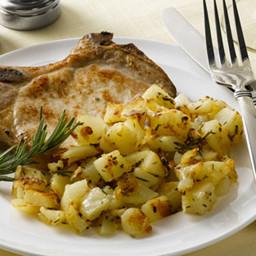 Roasted Garlic & Herb Potatoes
