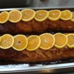 Roasted Honey Orange Pork Loin