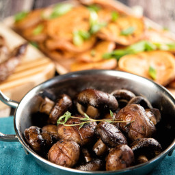 Roasted Mushrooms With Thyme Recipe