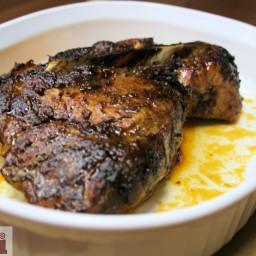 Roasted pork in adobo (Puerco adobado al horno)