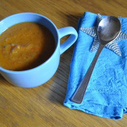 Roasted Tomato and Vegetable Soup