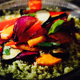 Roasted Vegetable Cousvous
