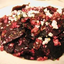 Roasted Beets with Feta