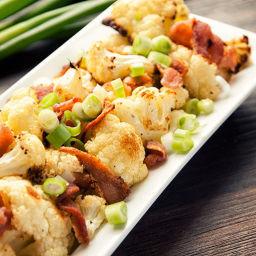 Roasted Cauliflower with Bacon Recipe