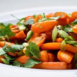 Roasted Coconut Carrots