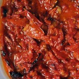 Roasted Tomato Sauce with Garlic