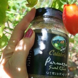 Roma Tomatoes Parmesan